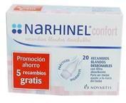NARHINEL CONFORT RECAMBIO 15+5 BLANDO DESECHABLE