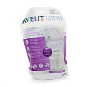 Bolsas almacenamiento leche materna philips aven 25 bolsas