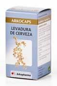 ARKOCAPSULAS LEVADURA 50 CAPSULAS