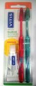 Cepillo dental adulto vitis access suave blister 2 u