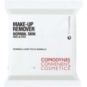 Comodynes convenient cosmetics make up remover n 20 toallitas