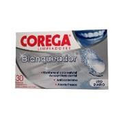 Corega blanqueador limpieza protesis dental 30 tab
