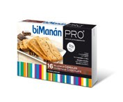 BIMANAN PRO GALLETAS CEREALES CON CHOCOLATE DIET