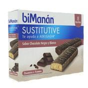 BIMANAN BARRITA CHOCOLATE NEGRO Y BLANCO 320 G 4