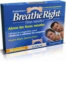 Breathe right tira nasal color t- peq-med 30 u